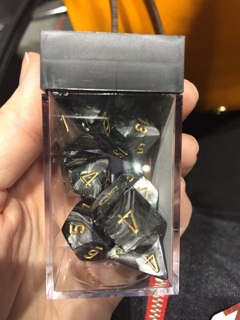 Set of Dice from PAX East 2016