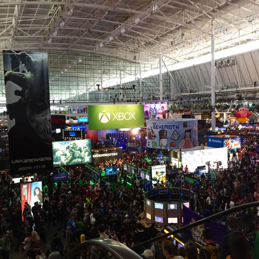 PAX East 2016 Expo Hall