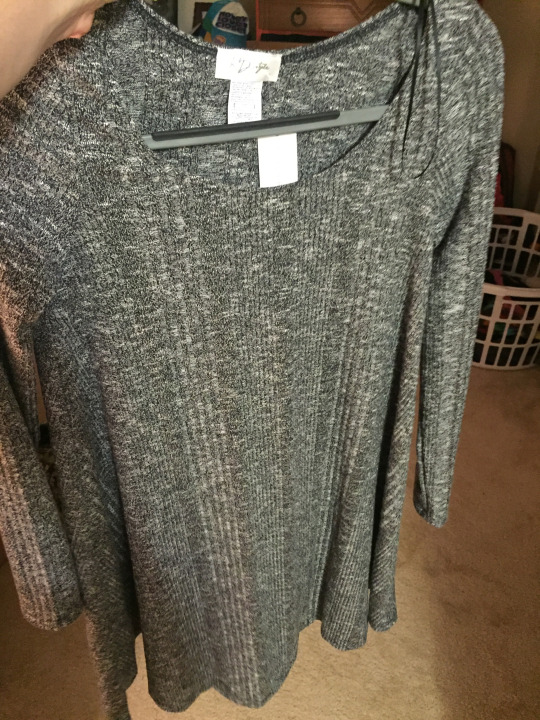 Niall Sweater Swing Dress by RD Style